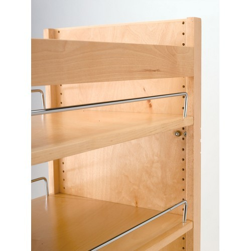 Rev a shelf 448 tp51 8 1 tall pantry w slide 8inw x 51in h for Adjustable shelves for kitchen cabinets