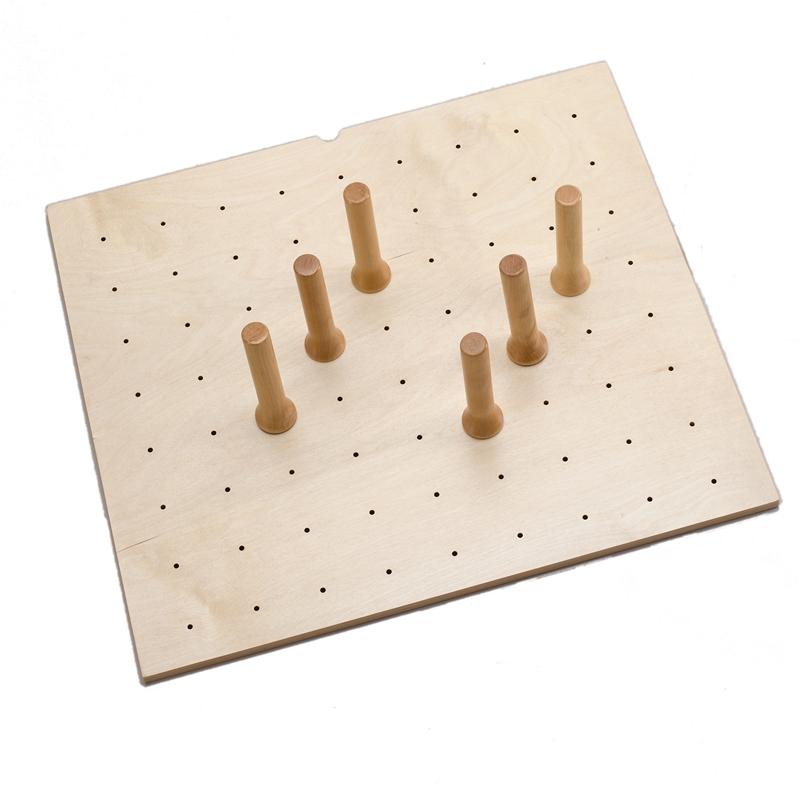 Rev-A-Shelf 4DPS-2421 - 24 x 21 Wood Peg Board System, 9 Pegs :: Image 10
