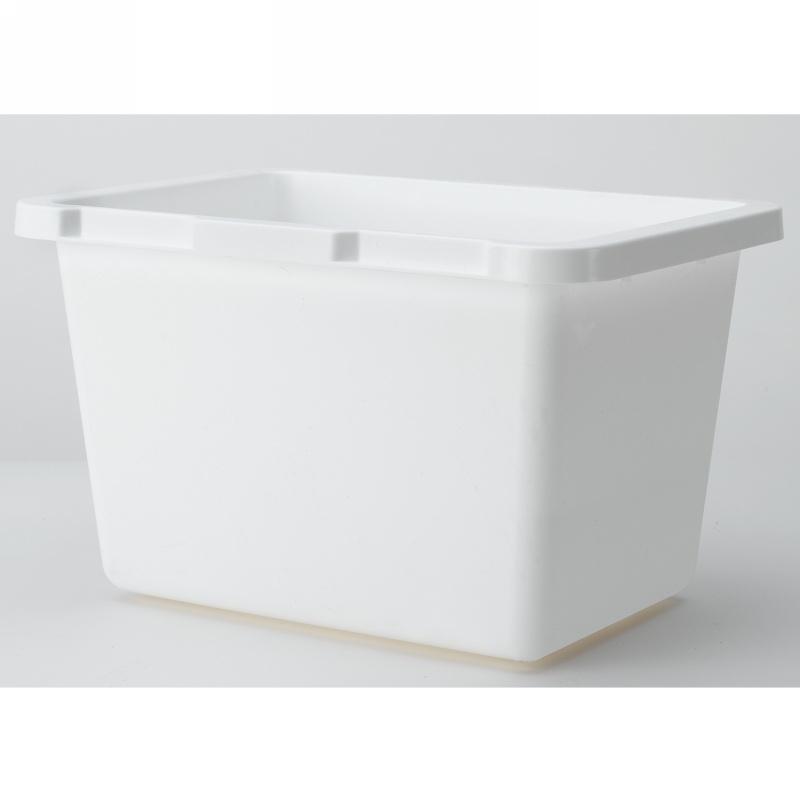 Rev-A-Shelf 4TMBIN-6 Bulk-6, 4-1/2 Qt. Trash Pull-Out Replacement Storage Bin, White :: Image 10
