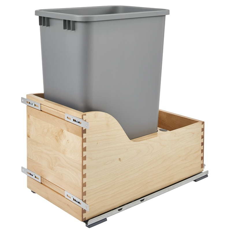 Rev-A-Shelf 4WCSD-1550DM-1 Servo 50 Qt. Pullout Waste Container :: Image 10