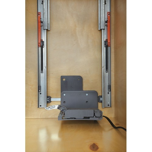 "Rev-A-Shelf 448-BCSCSD-5C - 5"" Base Cabinet Organizer Soft-Close Servo-Drive :: Image 20"