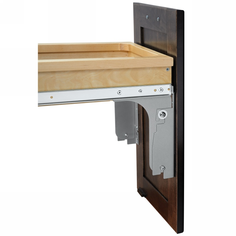 Rev-A-Shelf 4WCTM-12INDM-1 35 Qt. Top Mount Waste Container for Inset :: Image 30