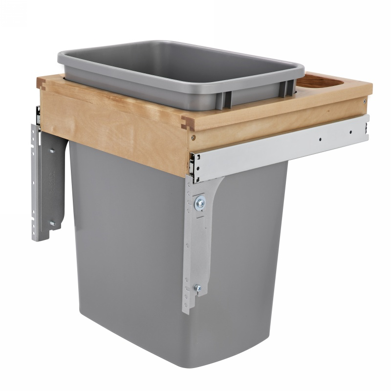 Rev-A-Shelf 4WCTM-1816DM-1 35 Qt. Top Mount Waste Container :: Image 10