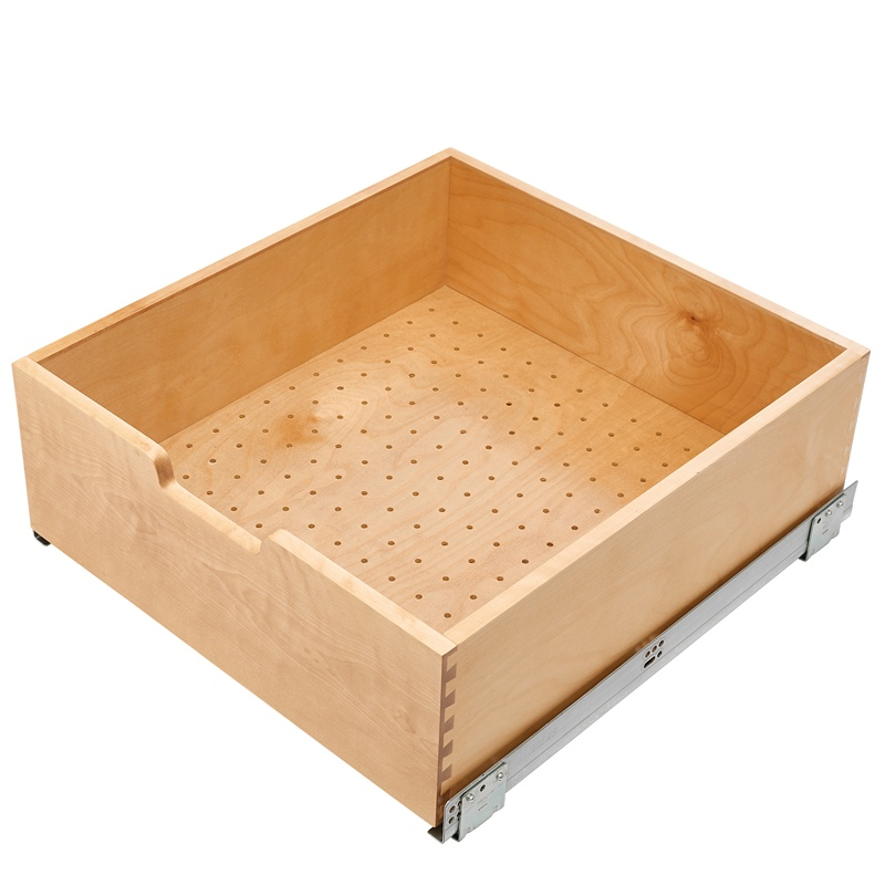 Rev A Shelf 4wdb7 24sc 1 Wood Drawer Pull Out With Blum