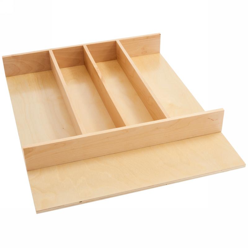 """18-1/2"""" Utensil Drawer Insert, Wood, Wood, Rev-a-shelf  4WUT-1 :: Image 10"""
