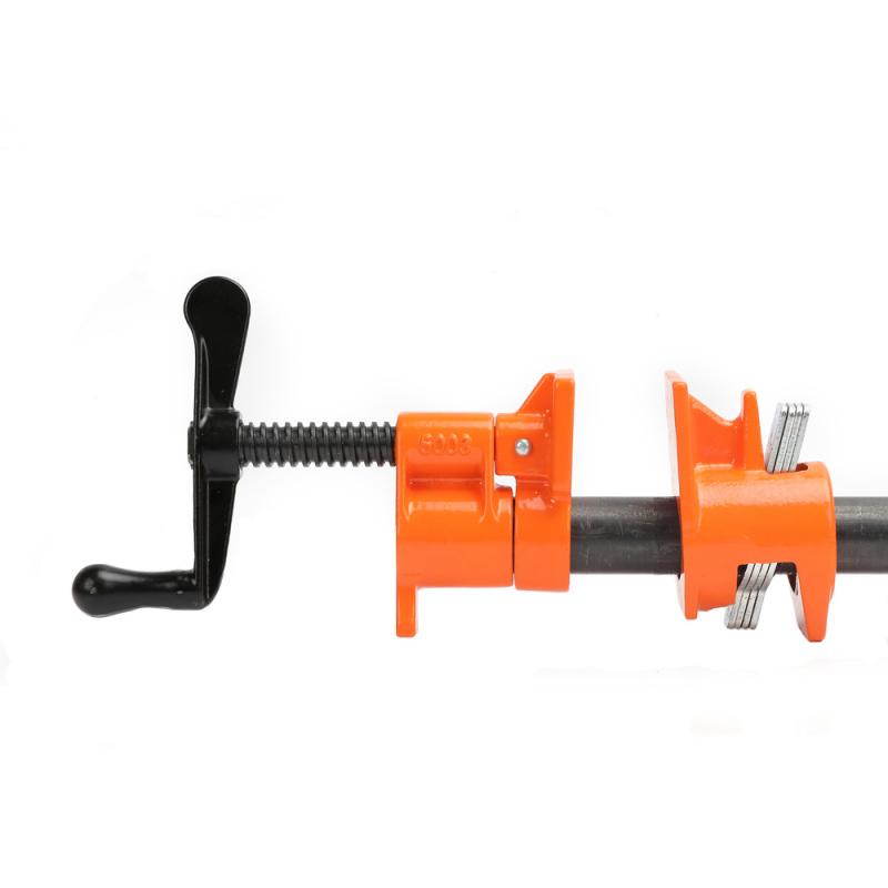 "Pony Jorgensen 50, Standard Reach Pipe Clamp with Crank Handle, Throat Depth 2-3/8"" :: Image 10"