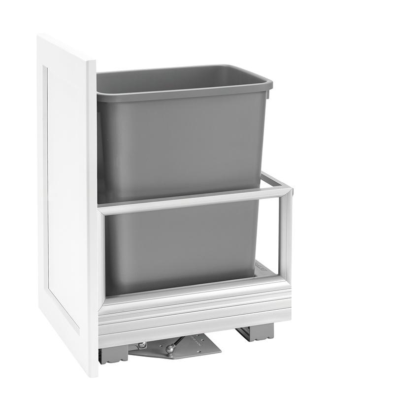 Rev-A-Shelf 5149-15DM18-117 35 Qt. Pullout Waste Container :: Image 10