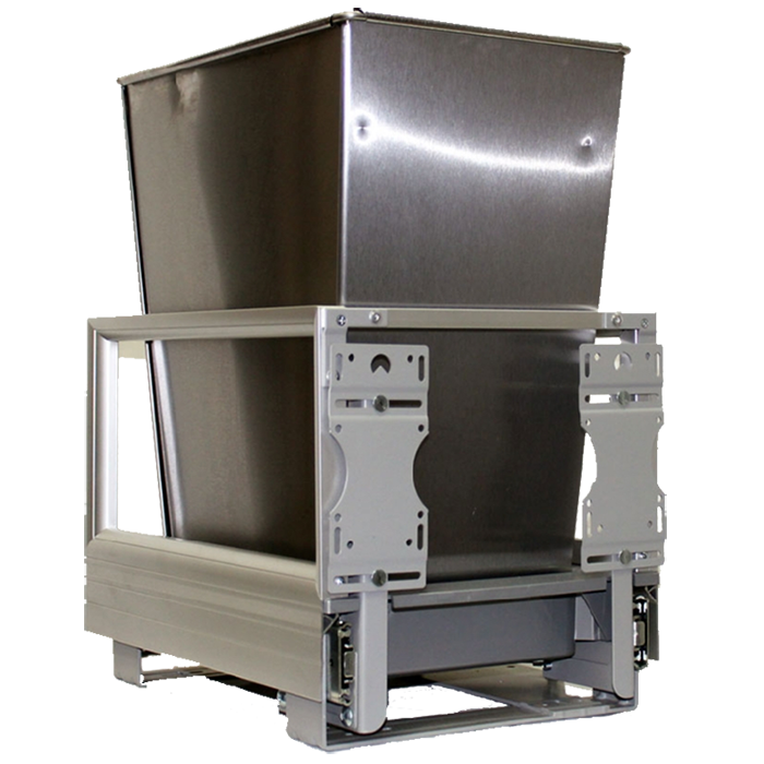 Rev-A-Shelf 5149-15DM18-1SS 32 Qt. Pullout Waste Container :: Image 10