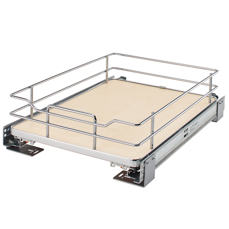 Rev-A-Shelf 5330-15-MP - 15in Maple Pullout Basket :: Image 10
