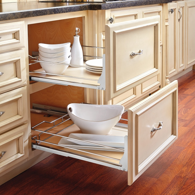 Rev-A-Shelf 5330-33-MP - 33in Maple Pullout Basket :: Image 20