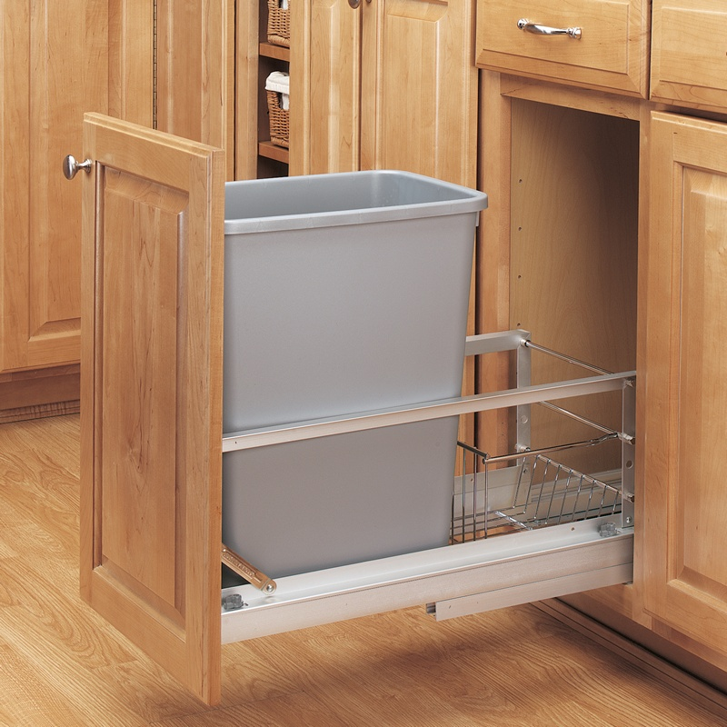 Rev-A-Shelf 5349-15DM-117 35 Qt. Pullout Waste Container :: Image 20