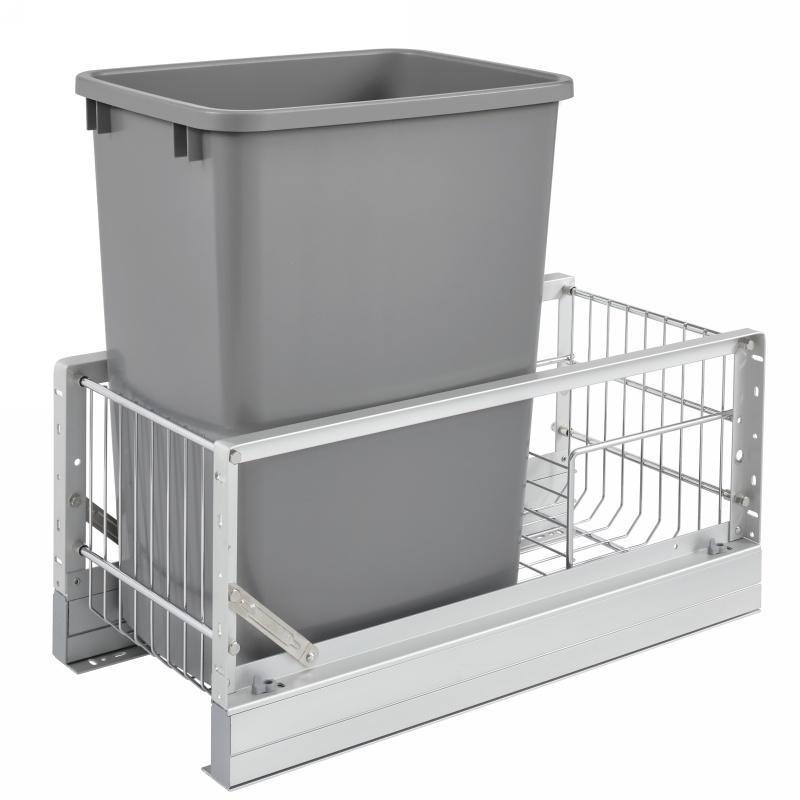 Rev-A-Shelf 5349-15DM-117 35 Qt. Pullout Waste Container :: Image 10
