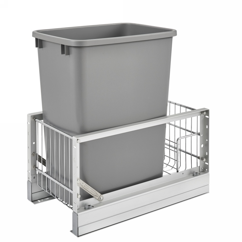 Rev-A-Shelf 5349-15DM18-117 35 Qt. Pullout Waste Container, 18in Depth :: Image 10