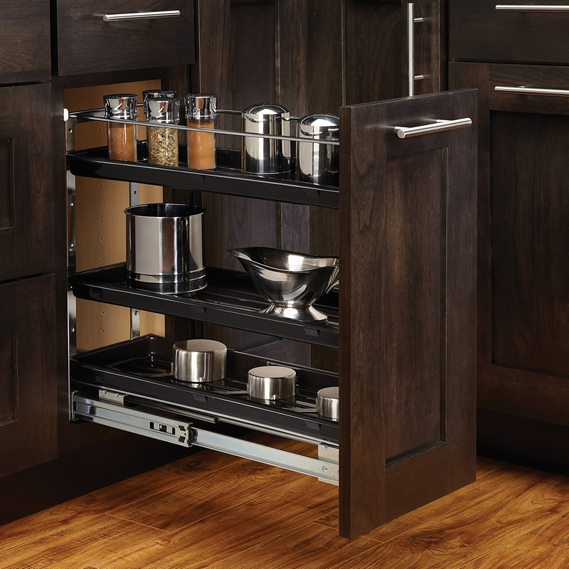 Rev-A-Shelf 548-BC-8C, 7-7/8 W Base Cabinet Organizer