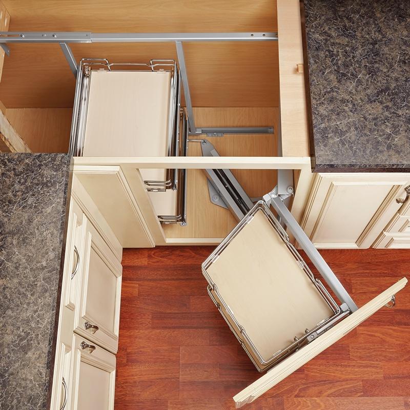 Rev-A-Shelf 599-18-LMP - Two-Tier Blind Corner Organizer, Left :: Image 40