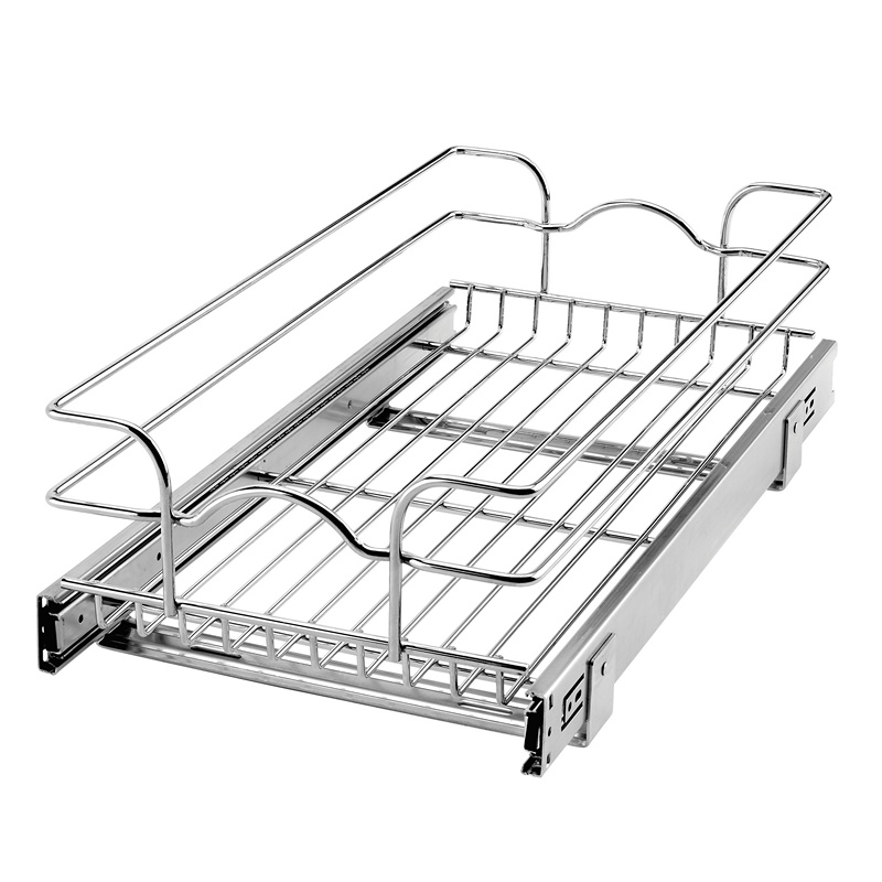 Rev-A-Shelf 5WB1-1222-CR - 12in Single Wire Basket, 22in Depth :: Image 10