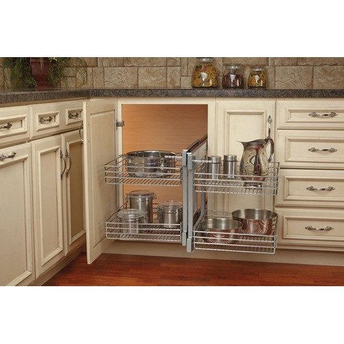 superpantry optimizer toe chrome blinds and cabinetry portfolio kick organization drawer corner pantry with toekick super org woodland blind posts