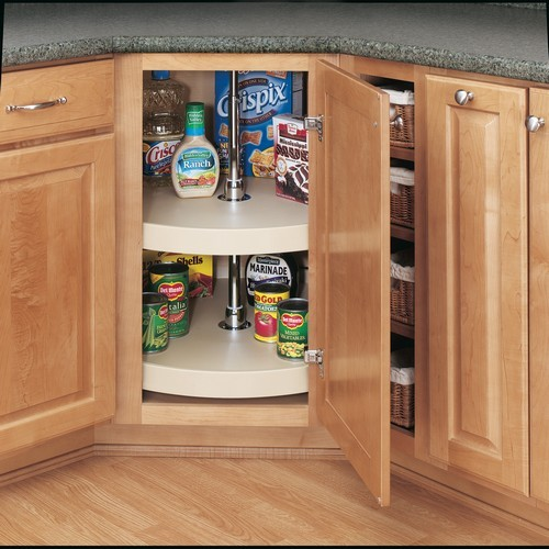 Rev-A-Shelf 6072-16-15-52 16in Full Circle Lazy Susans 2-Shelf, Almond :: Image 10