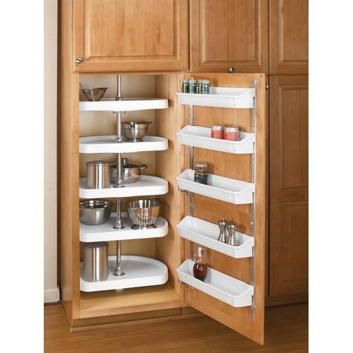 Rev-A-Shelf 6265-22-15-52 - 22in Pantry D-Shape Lazy Susans, Almond :: Image 10