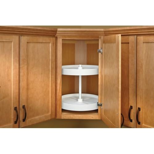 Rev-A-Shelf LD-2062-18BM-11-1 - 18in Full Circle Lazy Susans 2-Shelf, White :: Image 20