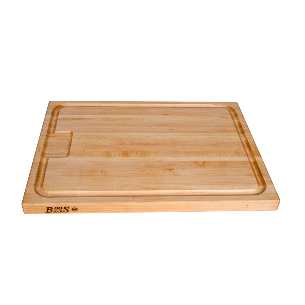 John Boos AUJUS 24 L Cutting Board, Professional Collection, Maple, Cutting Board with Groove, 24 L x 18 W x 1-1/2 Thick :: Image 20