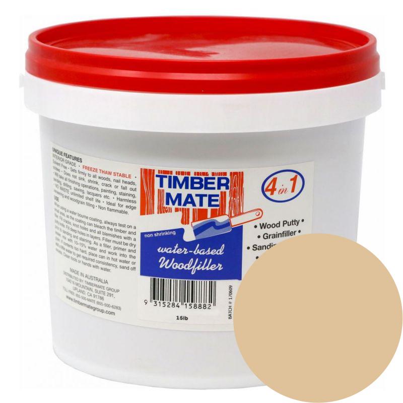1 Gallon White Oak Water-Based Wood Putty, Ready to Use, Timbermate Products AWO8 :: Image 10