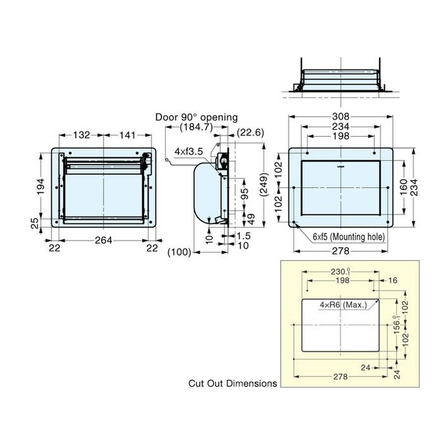 AZ-GD231-HL Tech Specs