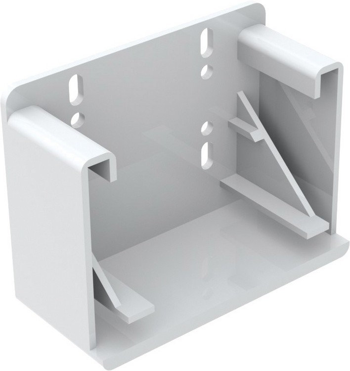 "Blum 295.3700.21 Rear Socket for 9"" Tandem Plus, Inside Cabinet Depth 10-15/32 - 11-3/32in :: Image 10"