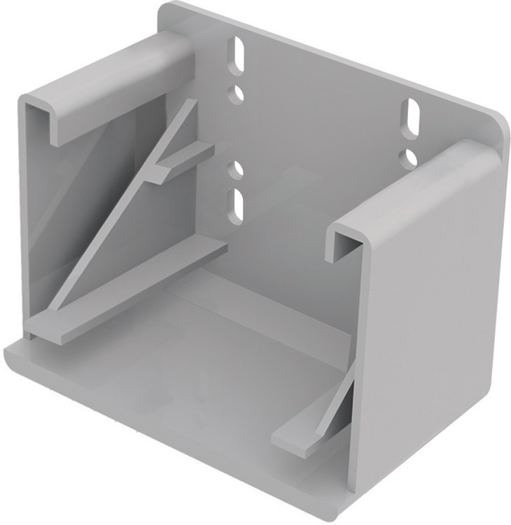 "Blum 295.3700.22 Rear Socket for 9"" Tandem Plus, Inside Cabinet Depth 11-5/32 - 11-25/32in :: Image 10"