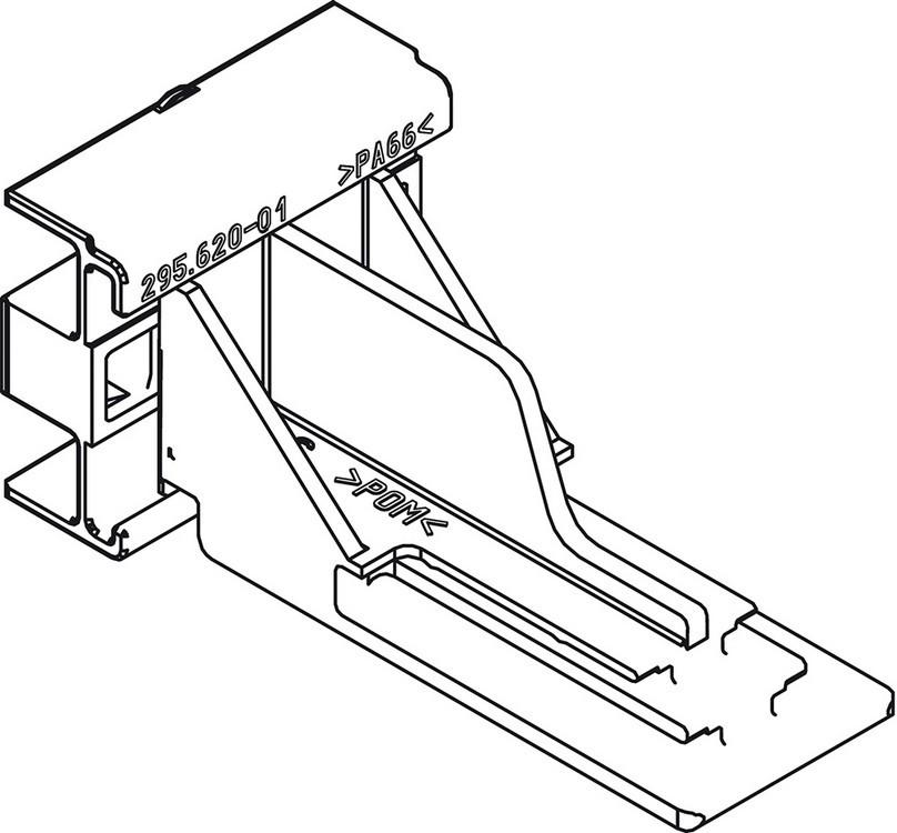 Blum 2956400 Rear Mount Socket for 552/562/563 TANDEM Drawer Slides :: Image 20