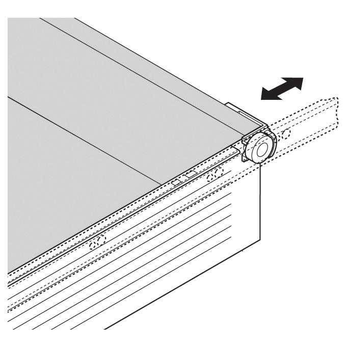 Blum 298.3210.01 METABOX 320 Series 1.5mm Gap Post Stop :: Image 40