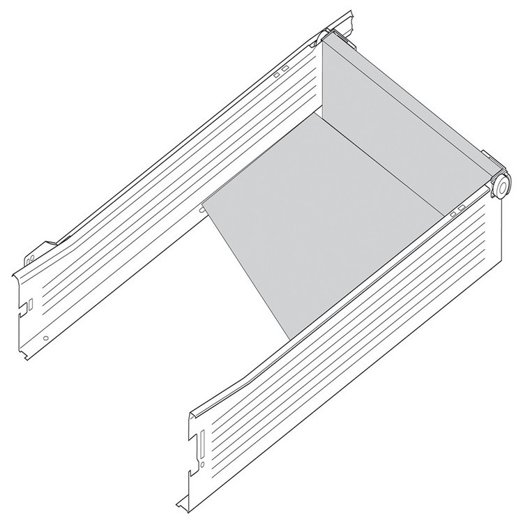 Blum 298.3210.01 METABOX 320 Series 1.5mm Gap Post Stop :: Image 50