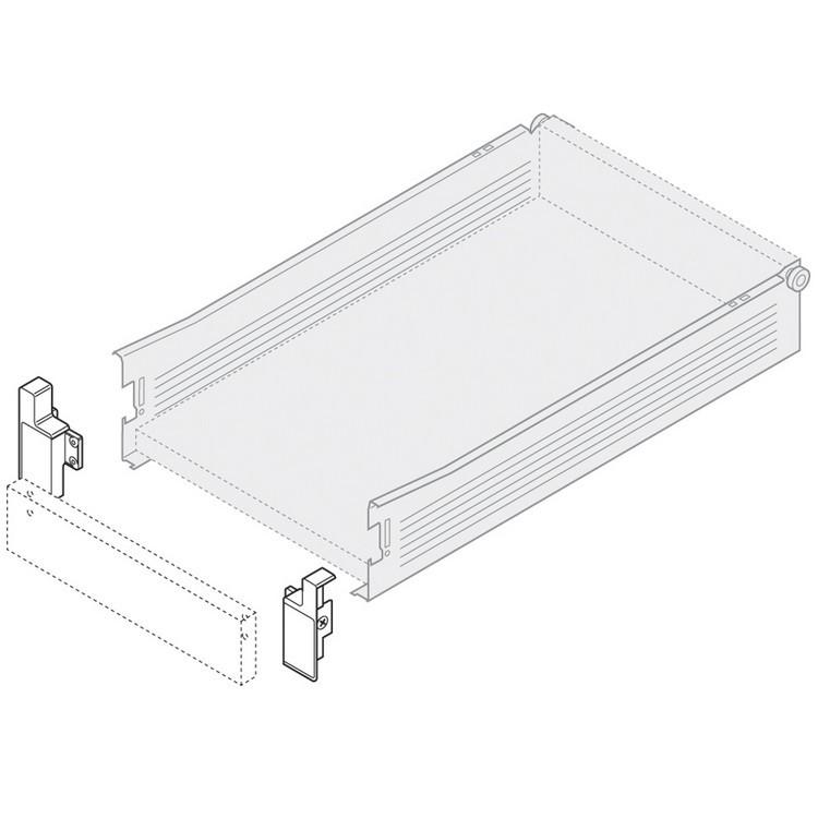 Blum ZIF.3000.03 Left Interior Front Fixing Bracket for 320M METABOX :: Image 10