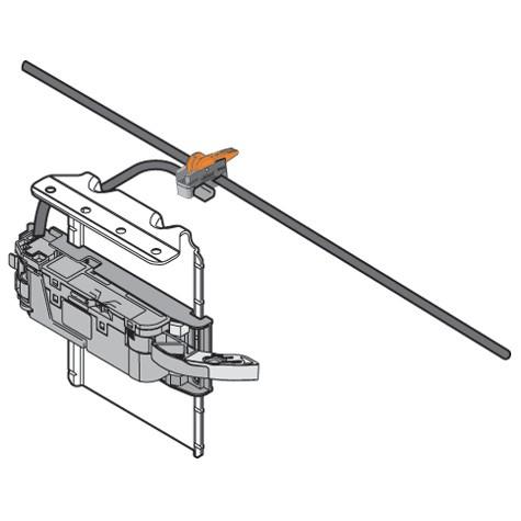 Blum Z10NG120 SERVO-DRIVE Wall Mount for 72 Watt Power Supply :: Image 130