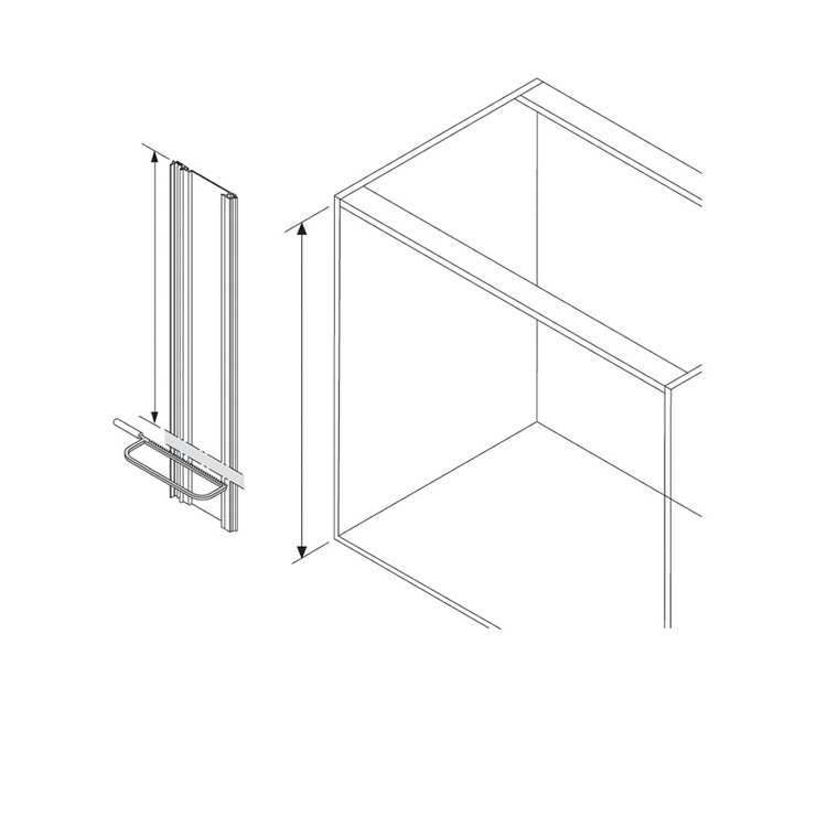 Blum Z10T1170A 46in SERVO-DRIVE Vertical Aluminum Profile without Cable :: Image 10