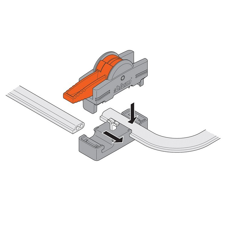 Blum Z10V1000.01 SERVO-DRIVE Inserta Cable Connector :: Image 90