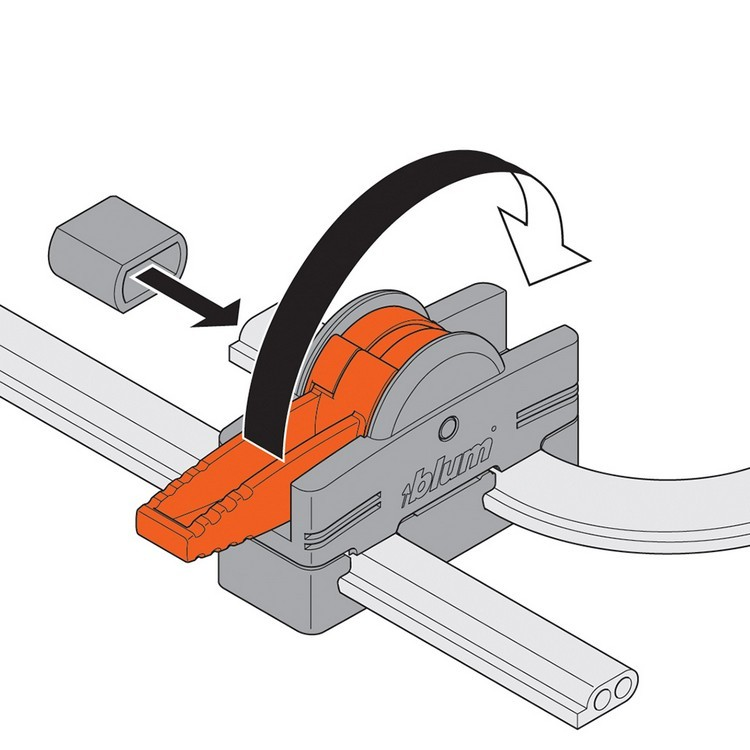 Blum Z10V1000.01 SERVO-DRIVE Inserta Cable Connector :: Image 100