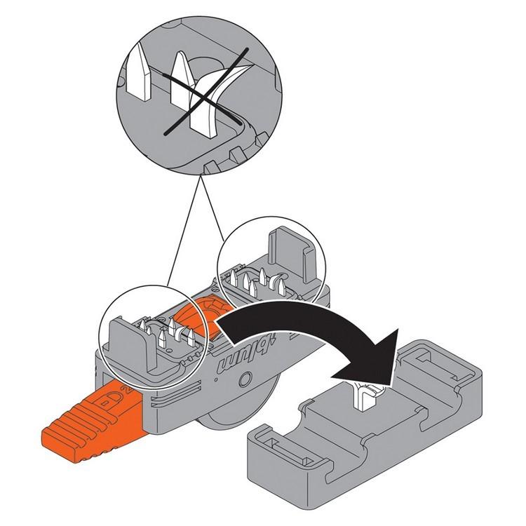 Blum Z10V1000.01 SERVO-DRIVE Inserta Cable Connector :: Image 110