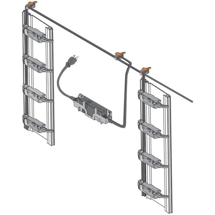 Blum Z10K800AE SERVO-DRIVE Universal Cable Set, 26 Feet :: Image 180