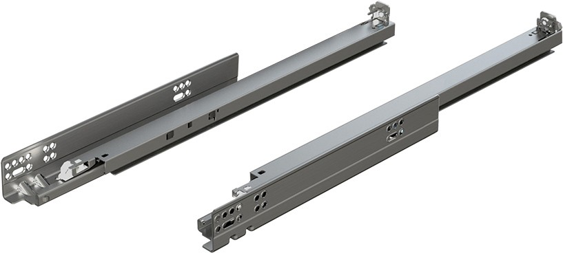 "Blum 563.4570B 18"" TANDEM plus BLUMOTION 563 Undermount Drawer Slide, Full Extension, Soft-Close, for 5/8 Drawer, 90lb :: Image 240"