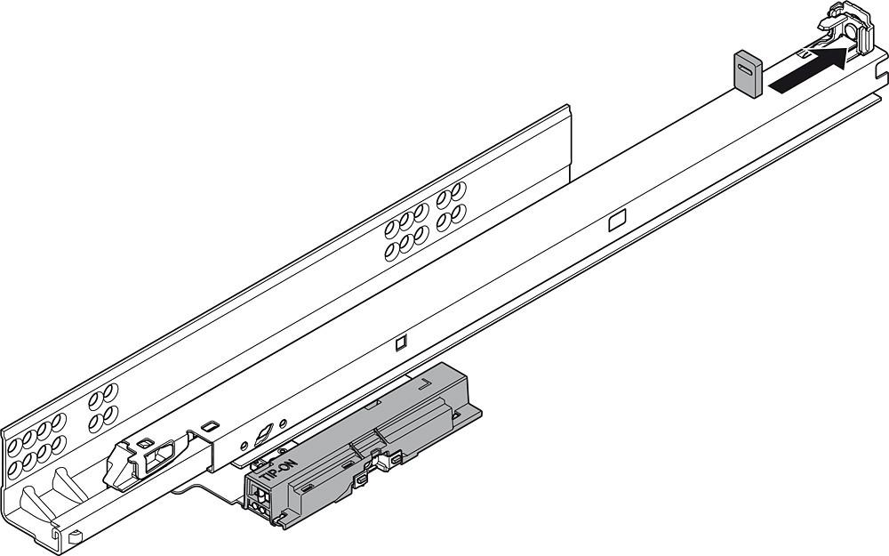 Blum T55.7150S Blum Tip-On for Tandem Plus :: Image 170