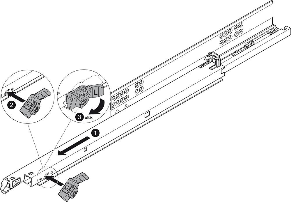 Blum T55.7150S Blum Tip-On for Tandem Plus :: Image 60
