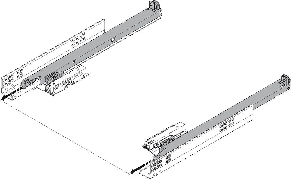 Blum T55.7150S Blum Tip-On for Tandem Plus :: Image 190