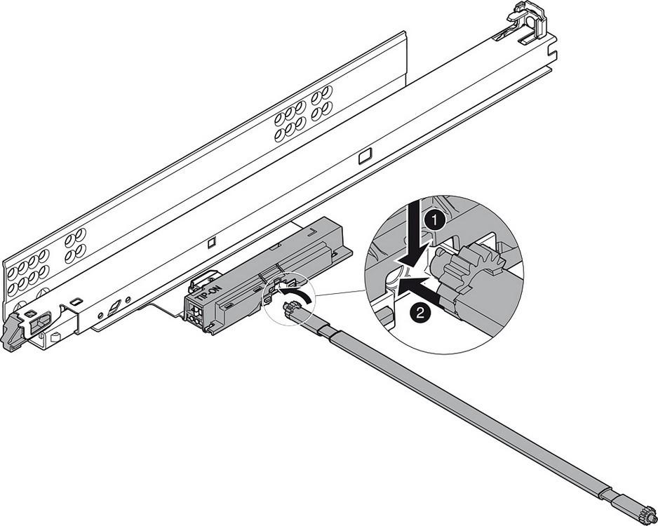 Blum T55.7150S Blum Tip-On for Tandem Plus :: Image 80