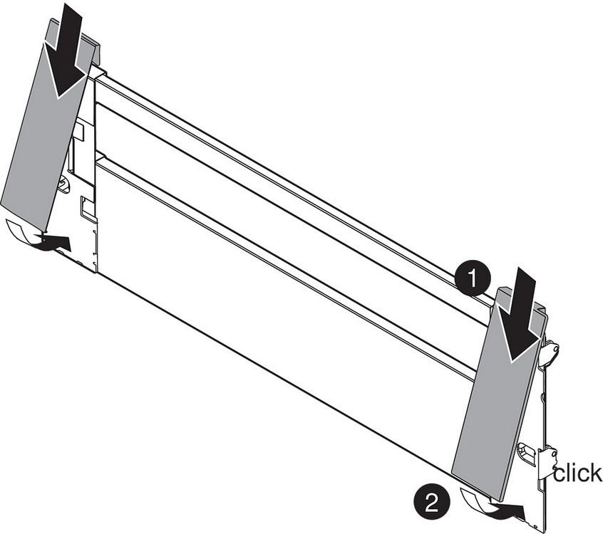 "Blum ZI7.3CS0 LEGRABOX C Height (7"") Interior Front Fixing Bracket, Orion Gray :: Image 60"