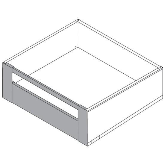 "Blum ZI7.3CI0 LEGRABOX C Height (7"") Interior Front Fixing Bracket, Stainless Steel :: Image 70"