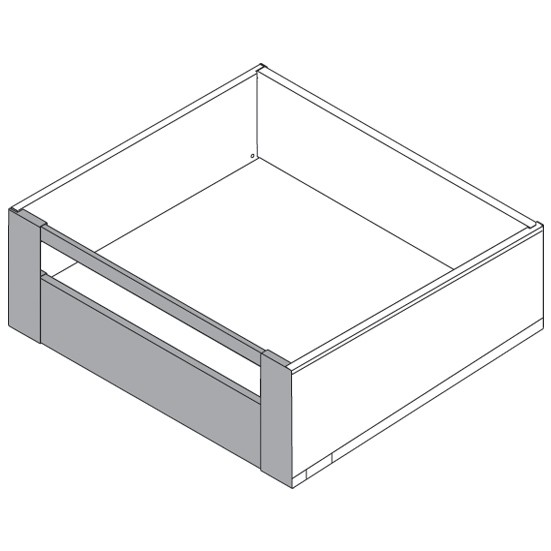 "Blum ZI7.3CS0 LEGRABOX C Height (7"") Interior Front Fixing Bracket, Orion Gray :: Image 70"