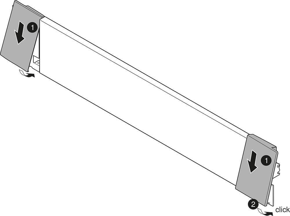 "Blum ZI7.0MS0 LEGRABOX M Height (3-9/16"") Interior Front Fixing Bracket, Orion Gray :: Image 40"