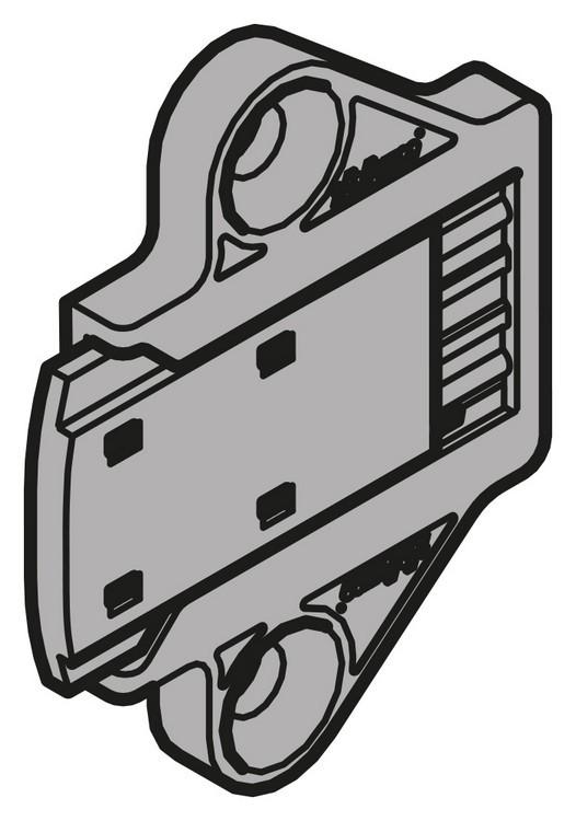 Blum 993.1220 SERVO-DRIVE Cabinet Distance Bumper, Screw-on :: Image 10