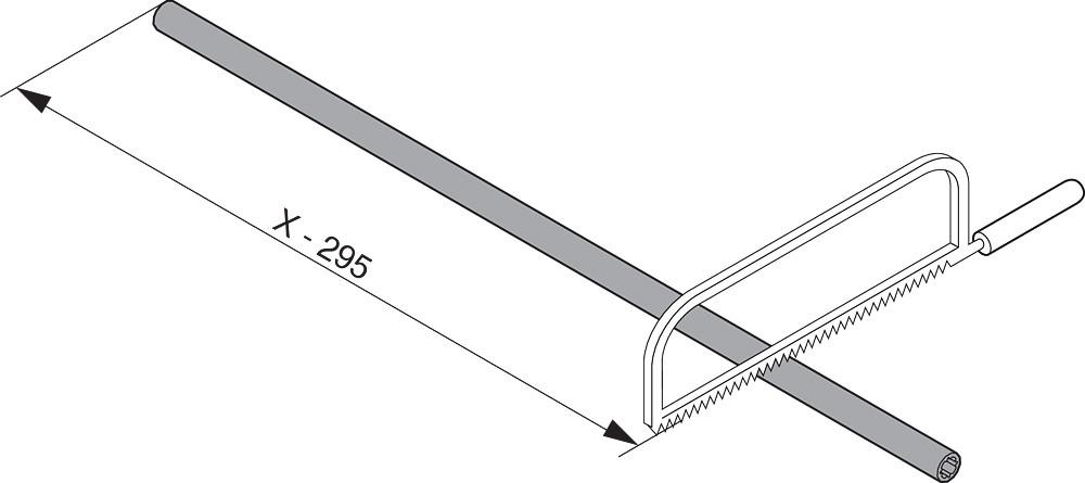 "Blum ZS7.650LU LEGRABOX 18""-24"" Lateral Stabilizer Set :: Image 90"